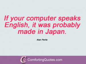 Quotes And Sayings By Alan Perlis