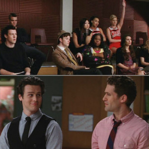 Mr. Schue, is he your son?
