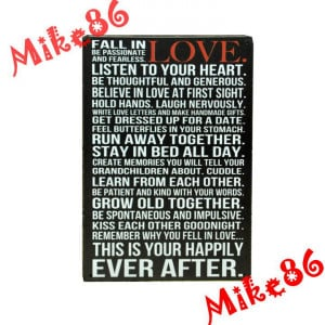 -Love-Poem-Vintage-Metal-sign-wall-decor-House-Office-Quote-Metal ...