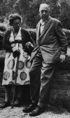 Lewis and Joy Davidman, 1958