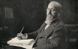 Henry James in his study