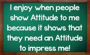Good attitude quotes for facebook status