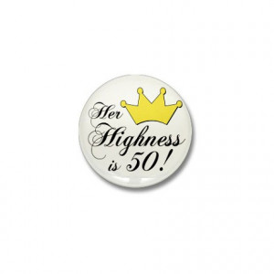 50Th Gifts > 50Th Buttons > 50th birthday gifts women Mini Button