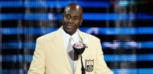 Jerry Rice enters the Hall of Fame as the all-time leader in receiving ...