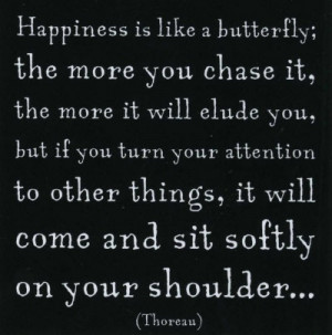 ... and white, butterfly, happiness, phrases, quotes, sayings, text, words
