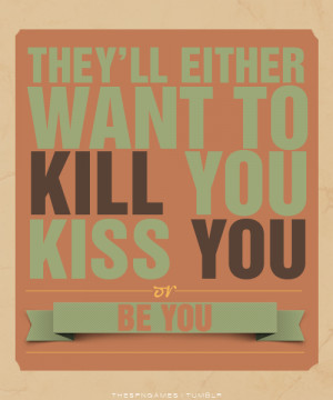 Finnick Odair: Favorite The Hunger Games Quotes.