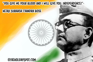 by Netaji Subhash Chandra Bose