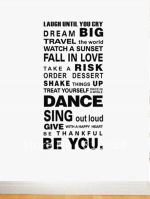 Live Love Laugh Dance Quotes
