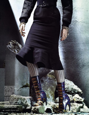 Keep Stepping: Quote by Marsha Sinetar Photo From Vogue Russia