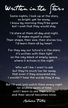 written in the stars -poem by me :)