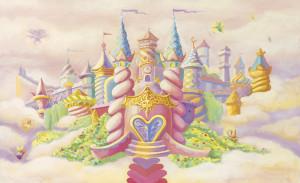 Princess Castle Wall Mural C835