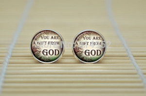 10pair Christian Quotes Earrings Inspirational Sayings Earrings ...