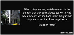 More Malcolm Forbes Quotes