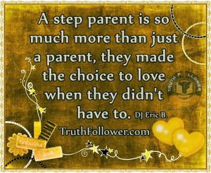 Divorced Step Parent Single