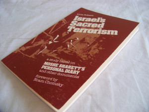 ... Moshe Sharett, including letters and other documents, and narrarated