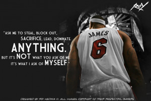 Lebron James Quote by Roy03x