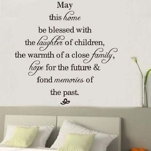Home-Laughter-Family-Hope-Memories-Inspirational-Quote-Wall-Sticker ...