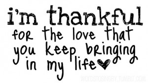 Thanksgiving Tumblr Quotes Clarkson thanksgiving love