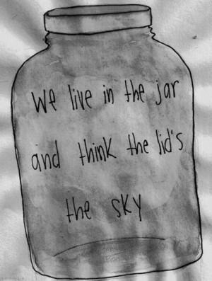 jar #sky #we think #more
