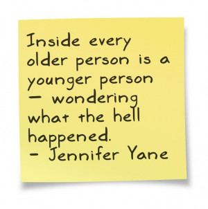... wondering what the hell happened. - Jennifer Yane #birthday #quotes