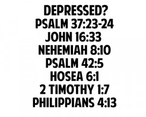You are here: Home › Quotes › Depression is serious. But God is ...