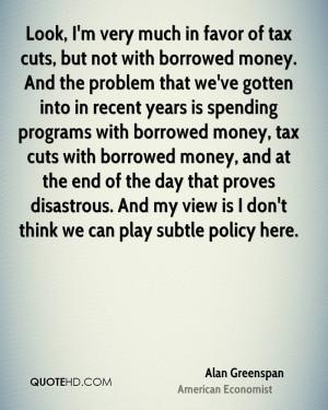 spending cuts quote