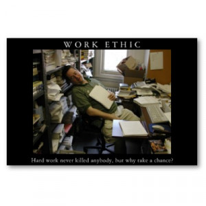 Motivational Quotes About Work Ethic