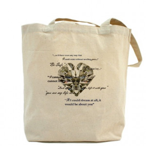 ... Edward Bags & Totes > Twilight-Heart Charm Team Edward/Quotes (2 sides