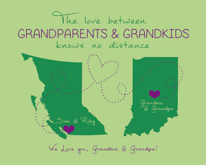 Grandparents Quote, Custom Gift for Grandma and Grandpa, 8x10 Custom ...