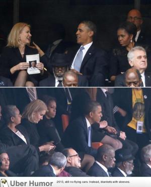 Barack Obama with Danish prime minister Helle Thorning-Schmidt