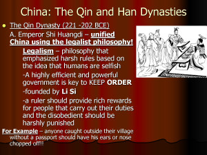 Chinese Legalism Quotes