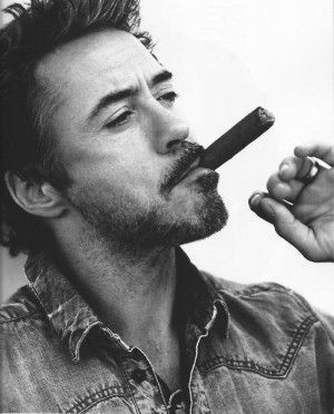 ... sherlock holmes robert downey jr man iron man cigar handsome actor