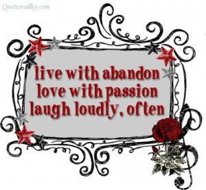 Live With Abandon