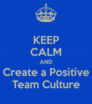 how to create a positive work culture