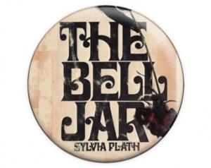 The Bell Jar Sylvia Plath Novel Vintage Book Cover 1.5