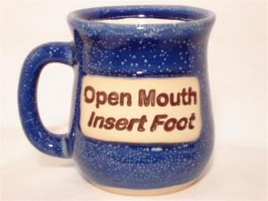 For his espresso machine joke: