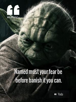 yoda #movies #starwars #jedi #quotes #cytaty #force www.wielkicytat.pl ...