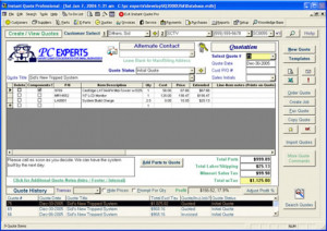Instant Quote Professional is a feature-rich software application ...