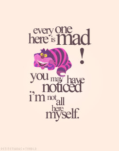 Alice In Wonderland alice Cheshire Cat the Mad Hatter The white rabbit ...