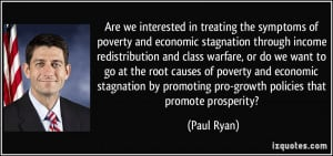 of poverty and economic stagnation through income redistribution ...