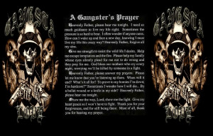 GANGSTA PRAYER Image