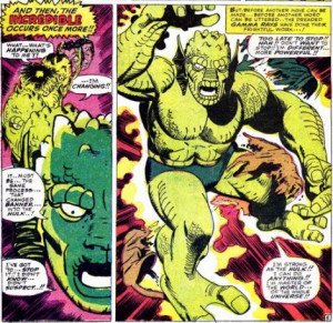 incredible hulk comic book