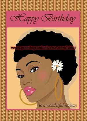 Happy Birthday African American Women