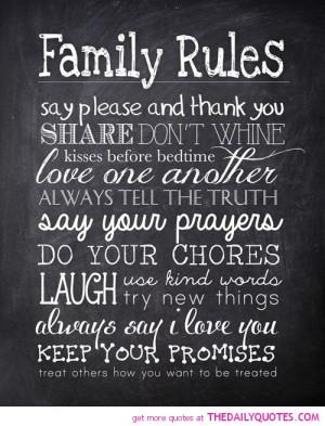 inspirational family poems