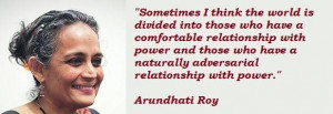 Arundhati roy famous quotes 2