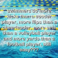swimming sayings true sports quotes for kids life is like swimming ...