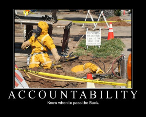 As a husband, I am accountable to my wife, not to the county in which ...