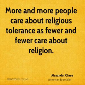 Tolerance vs. toleration