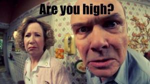 Are you HIGH? | That 70's show meme | marijuana