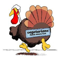 Turkey Day Humor | Thanksgiving cartoon for #vegetarians | # ...